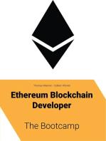 Ethereum Blockchain Developer - The Bootcamp