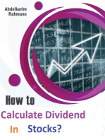 How to Calculate Dividend In Stocks?