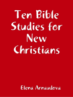 Ten Bible Studies for New Christians