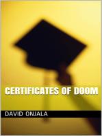 Certificates of Doom