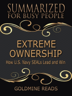 Extreme Ownership - Summarized for Busy People