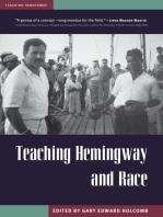 Teaching Hemingway and Race