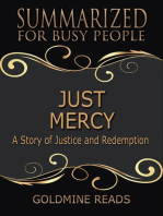 Just Mercy - Summarized for Busy People