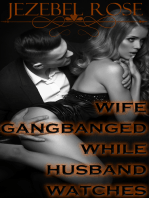 Wife Gangbanged While Husband Watches