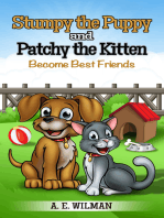 Stumpy the Puppy and Patchy the Kitten Become Best Friends