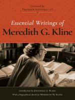 Essential Writings of MG Kline