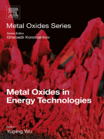 Metal Oxides in Energy Technologies
