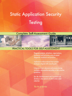Static Application Security Testing Complete Self-Assessment Guide