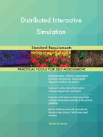 Distributed Interactive Simulation Standard Requirements