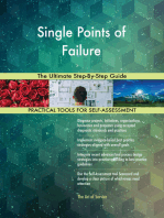 Single Points of Failure The Ultimate Step-By-Step Guide