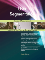 User Segmentation Standard Requirements