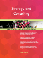 Strategy and Consulting A Complete Guide