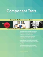 Component Tests Complete Self-Assessment Guide