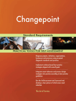 Changepoint Standard Requirements