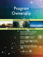 Program Ownership Standard Requirements