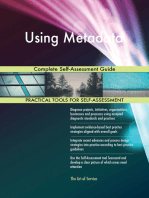 Using Metadata Complete Self-Assessment Guide