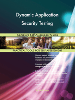 Dynamic Application Security Testing Complete Self-Assessment Guide