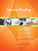Service Routing Complete Self-Assessment Guide
