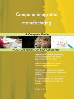 Computer-integrated manufacturing A Complete Guide