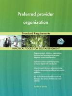 Preferred provider organization Standard Requirements