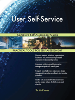 User Self-Service Complete Self-Assessment Guide