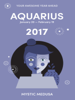 Mystic Medusa: Aquarius 2017 - Your Awesome Year Ahead