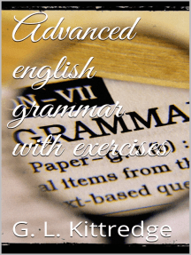 Advanced English Grammar with Exercises