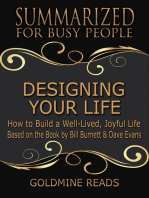 Designing Your Life - Summarized for Busy People
