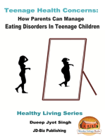 Teenage Health Concerns: How Parents Can Manage Eating Disorders In Teenage Children