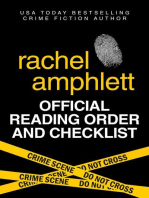 Rachel Amphlett Reading Order and Checklist