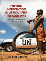 Foreign Intervention in Africa after the Cold War: Sovereignty, Responsibility, and the War on Terror