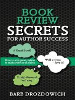 Book Reviews for Author Success