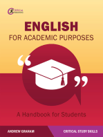 English for Academic Purposes: A Handbook for Students