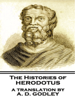 The Histories of Herodotus - A Translation By A.D. Godley