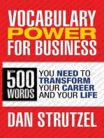 Vocabulary Power for Business