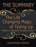 The Life Changing Magic of Tyding Up - Summrized for Busy People