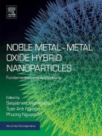 Noble Metal-Metal Oxide Hybrid Nanoparticles