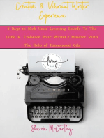 Creative & Vibrant Writer Experience