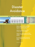 Disaster Avoidance A Clear and Concise Reference