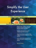 Simplify the User Experience A Clear and Concise Reference