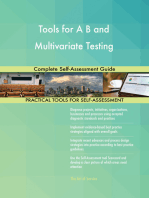 Tools for A B and Multivariate Testing Complete Self-Assessment Guide