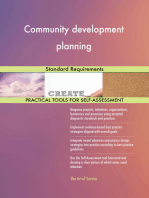 Community development planning Standard Requirements