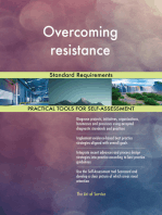 Overcoming resistance Standard Requirements