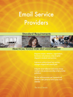 Email Service Providers Standard Requirements