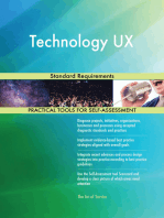 Technology UX Standard Requirements