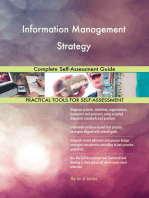 Information Management Strategy Complete Self-Assessment Guide