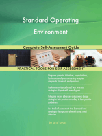 Standard Operating Environment Complete Self-Assessment Guide