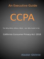 An Executive Guide CCPA