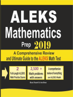 ALEKS Mathematics Prep 2019