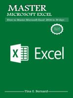 Mastering Microsoft Excel 2016